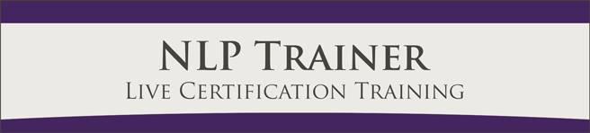 NLP Trainer Live Certification Training